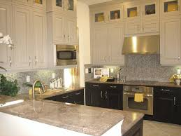 Upper Kitchen Cabinet Ideas Brilliant Kitchen Backsplash No Upper Cabinets Design Ideas