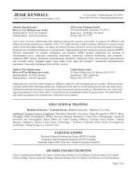 Ex Military Resume Examples by Examples Of Government Resumes Federal Government Resume Builder