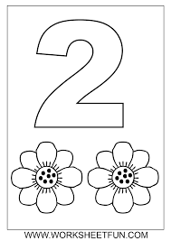 number 2 coloring page getcoloringpages com