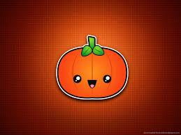 cute pumpkin minimal simple halloween wallpapers pinterest