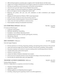 Computer Technician Resume Sample by Outstanding It Support Resume