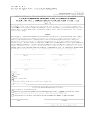 How To Draft A Legal Letter by 711 Abandonment Of Patent Application