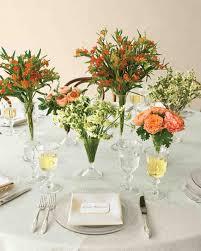 Table Flower Arrangements 39 Simple Wedding Centerpieces Martha Stewart Weddings