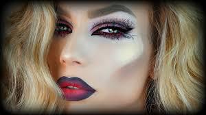 Halloween Barbie Makeup by Halloween Makeup Tutorial Glam Vampire Youtube