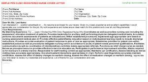 Cover Letter Cover Letter Examples For Nurses Internship Sample       nursing cover letter