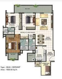 Servant Quarters Floor Plans 2 Bhk U0026 3 Bhk Servant Quarter Real Estate Builders From Delhi