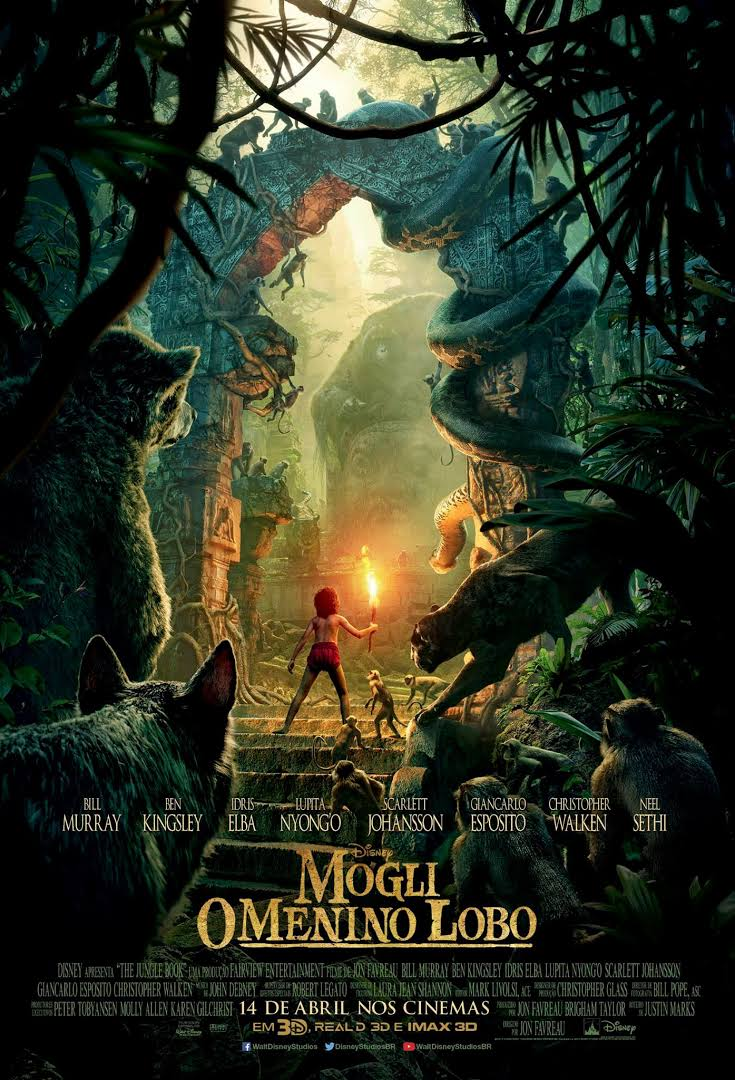 Poster - Mogli o menino lobo - Divulgação