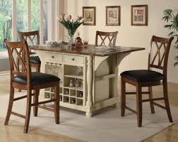 beautiful 4 stool kitchen island with making counter height bar