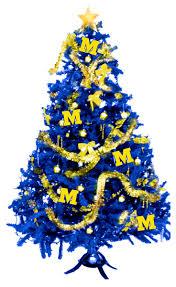 Diy Mini Christmas Trees Pinterest 86 Best Maize U0026 Blue Holidays Images On Pinterest Go Blue