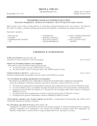 Director Of It Resume Examples by Senior Logistic Management Resume Vp Director Operations
