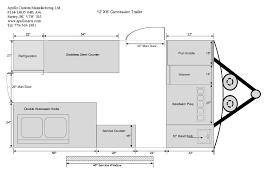 Caravan Floor Plan Layouts 12ft Concession Trailer Floor Plan B Jpg 842 595 Pixels Food