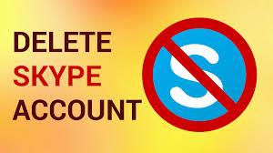 how to delete skype account permanently youtube
