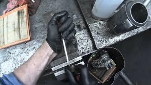 vw eurovan replacing broken shifter relay lever manual