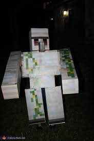 Halloween Minecraft Costume Iron Golem Costume