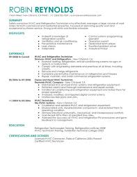 Resume For Maintenance Technician  auto mechanic resume templates     happytom co Sample Hvac Resume Examples   resume for maintenance technician