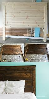 Cheap Wooden Bedroom Furniture by Make Your Own Diy Rustic Headboard Andreasnotebook Com