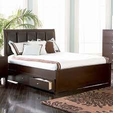 bed frames king size platform bed with storage and headboard diy