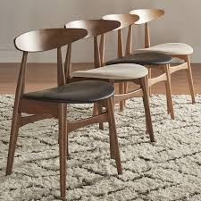 Overstock Dining Room Chairs by Best 25 Mid Century Dining Set Ideas On Pinterest Mid Century