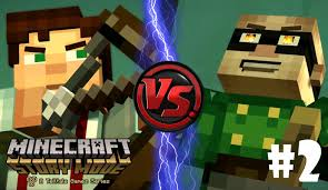 jesse vs magnus toy freddy plays minecraft story mode ep 2
