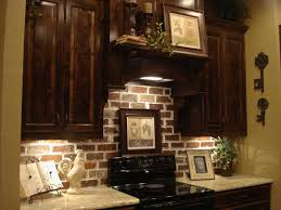 brick backsplash kitchens pinterest bricks kitchens and house
