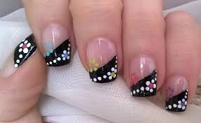 unique french tip nail art images nail art designs