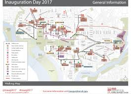 Sf Metro Map by Inauguration Day 2017 Survival Guide Street Closures Metro