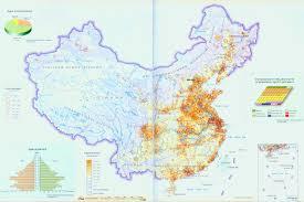Fuzhou China Map by Map Of China Population Distribution China Travel Map