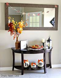 fall decor crazy happy casa