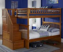 Wood Bunk Beds Plans by Make A Bunk Bed Plans With Stairs Translatorbox Stair