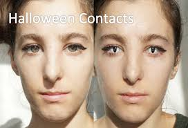 white contact lenses halloween halloween contact lenses video review before after youtube