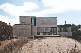 House On Pilings by House On The Beach Bak Architects Archdaily