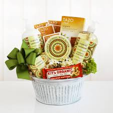 california delicious organic oatmeal spa gift basket hayneedle