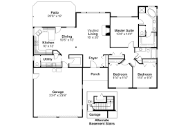 Ranch House Plan by Ranch House Plans Paxton 30 320 Associated Designs
