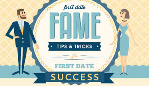 First Date Fame  Tips For First Date Success   Infographic