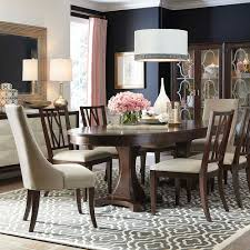 presidio oval dining table by bassett furniture includes two 21
