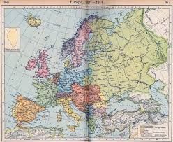 Detailed Map Of Germany by Of Europe 1871 1914