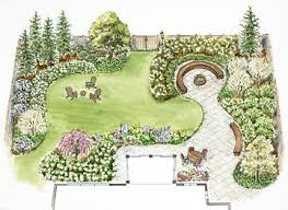 Top  Best Landscape Plans Ideas On Pinterest Privacy - Backyard plans designs