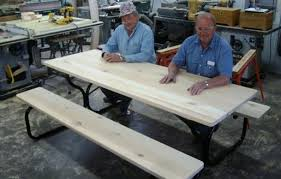 Free Wooden Picnic Table Plans by Free Picnic Table Plans How To Build A Picnic Table