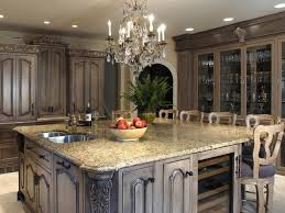 Distressed Black Kitchen Island by Distressed Black Kitchen Cabinets Of Best Colors For Distressed