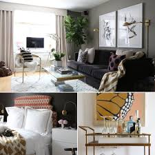 Modern Living Room For Apartment Interior Designer U0027s Nyc Apartment Is Full Of Diy Inspiration