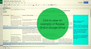 HOW TO WRITE A LITERATURE REVIEW Purdue Online Writing Lab   Purdue University