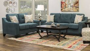 Teal Livingroom by Living Room Collections Home Zone Furniture Living Room