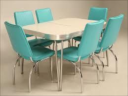 Retro Dining Room Set Kitchen Vintage Formica Dinette Sets 50s Table Metal Kitchen