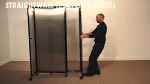 Room Divide by Straightwall Polycarbonate Room Divider By Versare Youtube