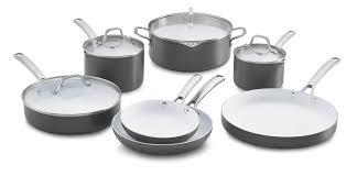 black friday ceramic cookware calphalon classic ceramic nonstick 11 pc cookware set