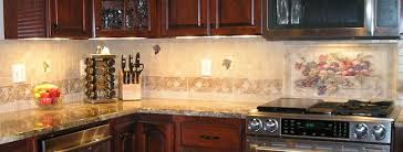 Kitchen Backsplash Mural Stone by Murals Tile Lines
