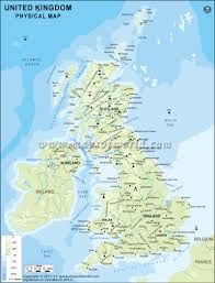 Blank Physical Map Of Russia by Uk Physical Map Physical Map Of United Kingdom