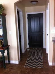 consider different colors for each side of your door to make an