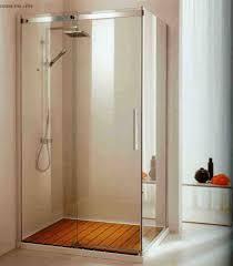 Interior Frameless Glass Door by Bathroom Frameless Glass Bathroom Shower Door With Wooden Shower