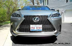2016 lexus nx road test 2015 lexus nx200t f sport awd review